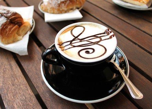 - coffee-music